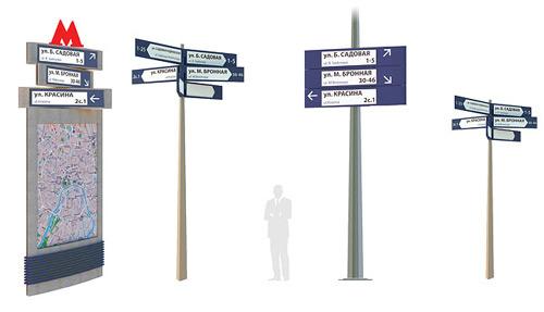 навигационные таблички