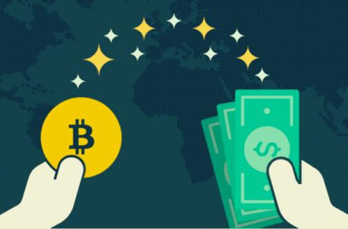 Обмен биткоин