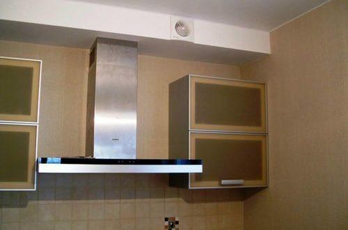 вытяжка для кухни с воздуховодом