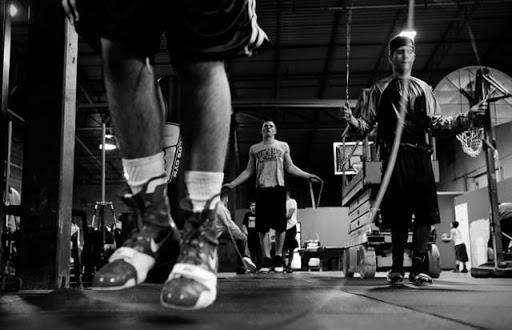 бокс тренировка