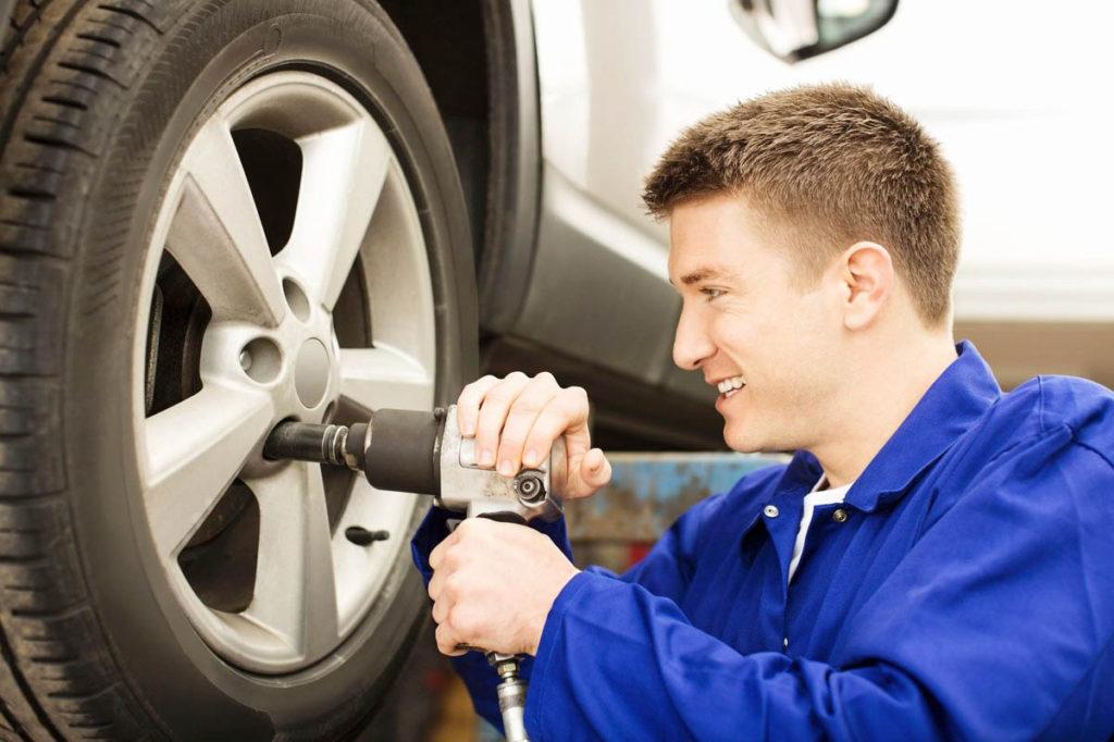 ремонт колес и шин