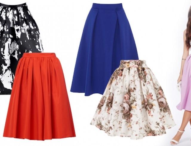 юбка в стиле new look